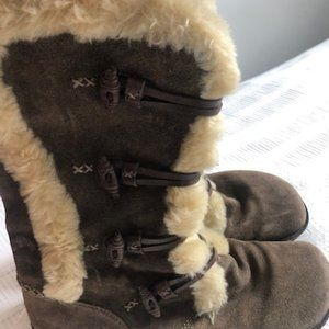 Earth Brand Winter Suede Boots Size 7.5